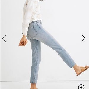 Madewell Curvy Perfect Vintage in Fitzgerald Wash